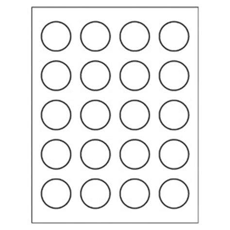 Free Avery 174 Template For Microsoft Word Round Label 8293 Avery Circle Labels 2 Inch Template
