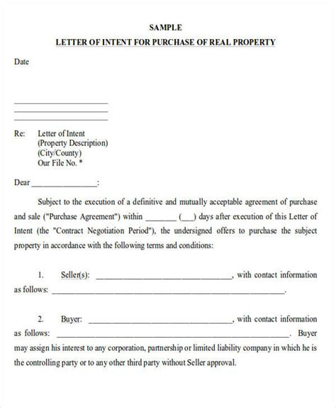 Letter Of Intent Dental Practice 60 sle letter of intent