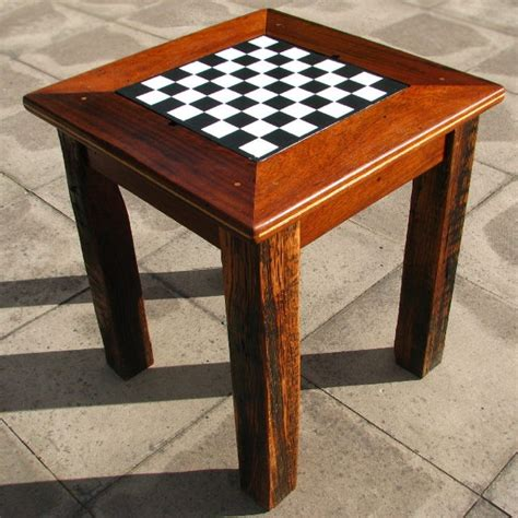 chess table chess table backgammon table