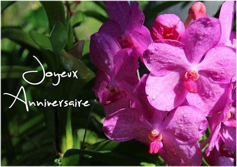 carte d anniversaire fleur pour f 234 ter un anniversaire