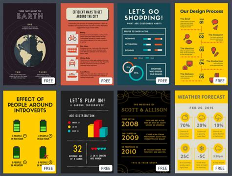 4 free tools for creating shareable infographics