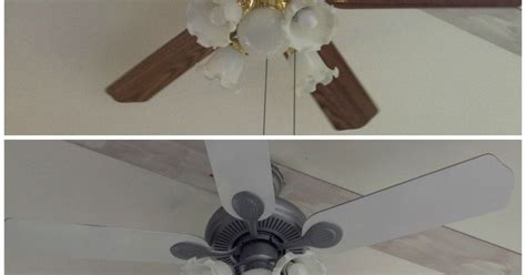 Painting Ceiling Fan by 6 Ceiling Fan Update Hometalk