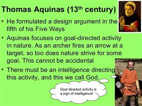 design premise meaning the design argument