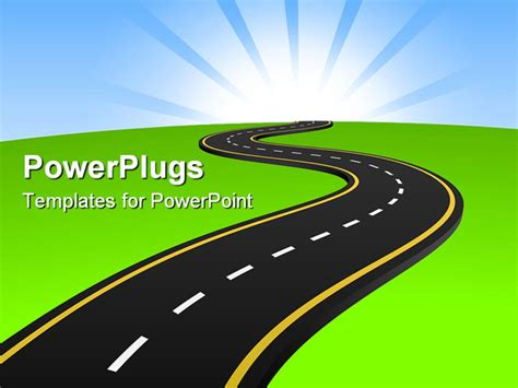powerpoint road template best photos of powerpoint road journey journey