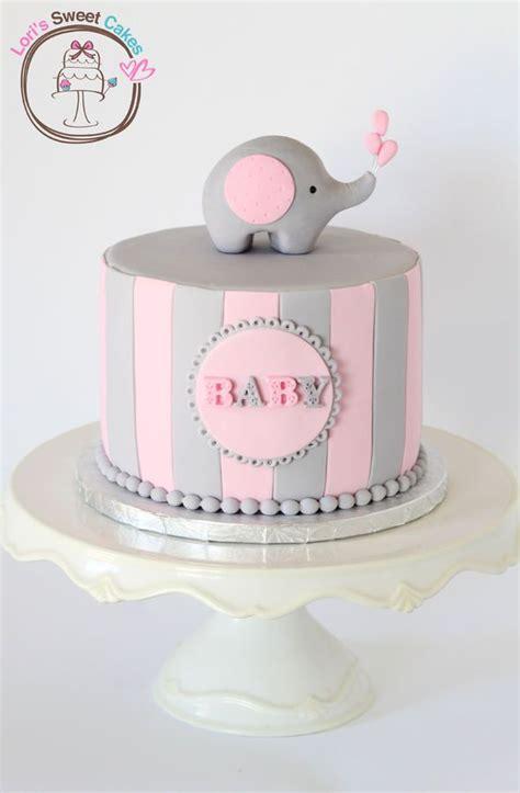 pink elephant baby shower cake 17 best ideas about baby elephant cake on