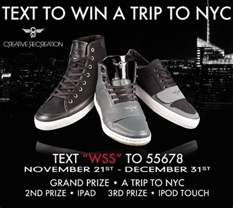 text to win sweepstakes text to win contests wws creative recreation text to win a new york city