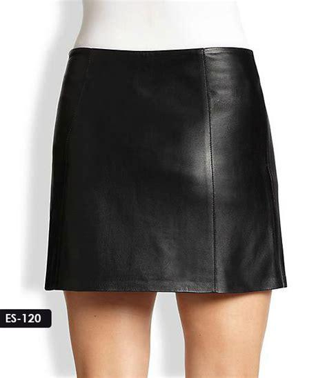 sydney leather jacket mini leather skirt by sydney