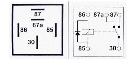 bosch automotive relay diode 5 pin automotive type 12volt 40 relay with diode protection alt ry18 02