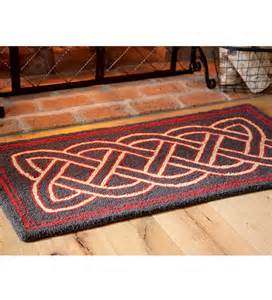 celtic knot rug handmade celtic knot wool hearth rug all things celtic