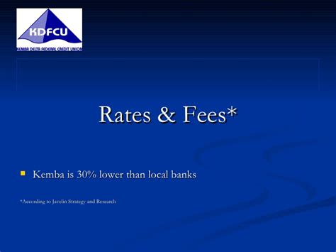 Union Mba Cost by Kemba Delta Federal Credit Union