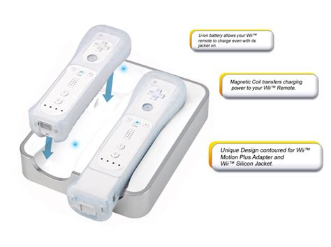 induction charger wii review wii electroflow inductive charger aggrogamer news