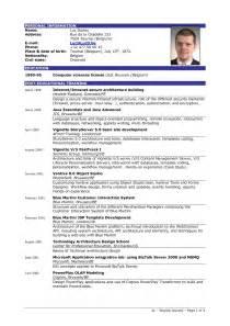 Sample Resume Pdf example resume format the best resume template best resume samples pdf