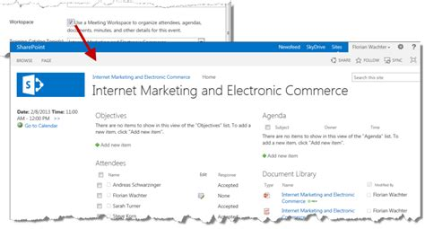 sharepoint 2013 meeting workspace template sharepoint 2013 meeting workspace template image