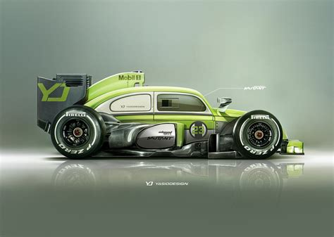 volkswagen racing wallpaper car yasiddesign render artwork formula 1 volkswagen