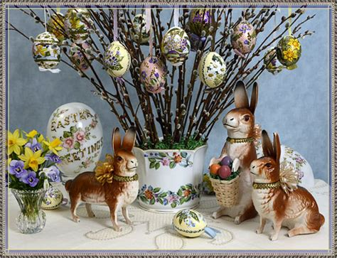 Shabby Chic Christmas Decorations Easter Shop Easter Egg Ornaments For Easter Trees D