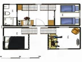 Tiny Homes On Wheels Floor Plans 8x24 Tiny House Plans 8x24 Portable Tiny House On