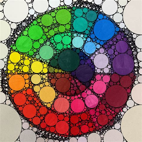 creative color wheel the bees knees cousin l p updated color wheels