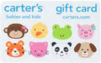 Carters Gift Card Balance - carters gift card balance check the balance of your carters gift cards