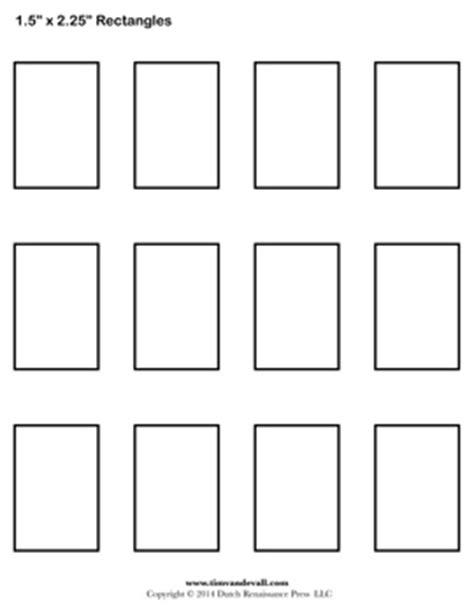 printable rectangle shapes rectangle templates blank shape templates free