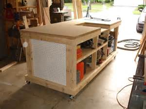 workshop work bench backyard workshop ultimate workbench garage
