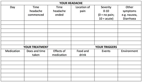 Printable Migraine Diary Template by Search Results For Journal Template Calendar 2015