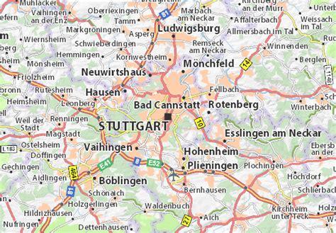 Germany Address Search Map Of Stuttgart Michelin Stuttgart Map Viamichelin