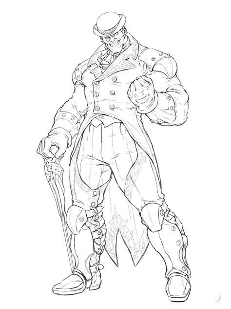 ArtStation - Street Fighter character challange, Hogni J