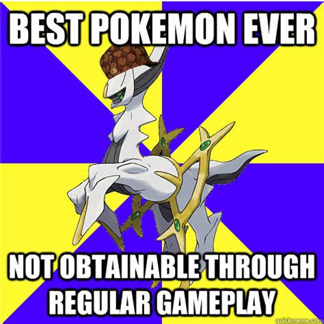 Best Pokemon Memes - best pokemon ever not obtainable through regular gameplay