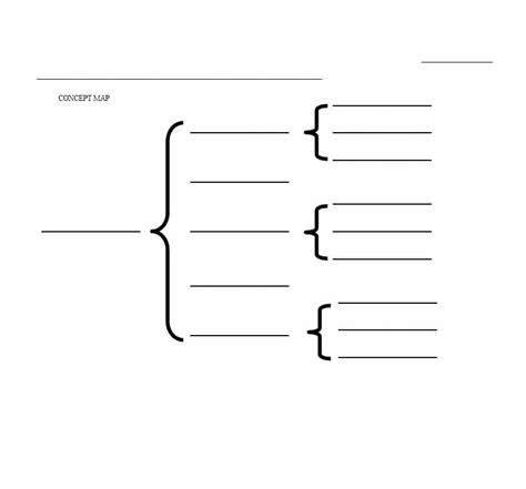 40 Concept Map Templates Hierarchical Spider Flowchart Free Concept Map Template