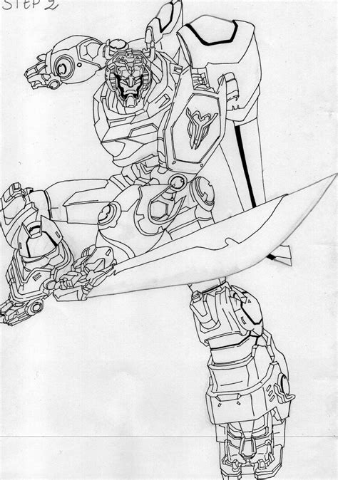 legendary voltron coloring coloring pages