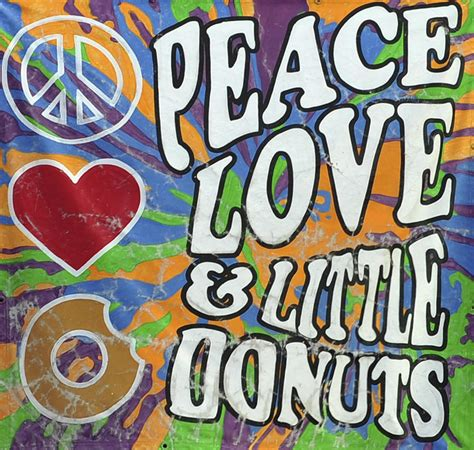 Home Decor Online Sales Peace Love And Little Donuts Photograph By Terry Deluco