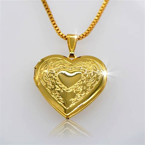 wholesale pendants for jewelry 18k real gold plated fancy locket fashion vintage jewelry