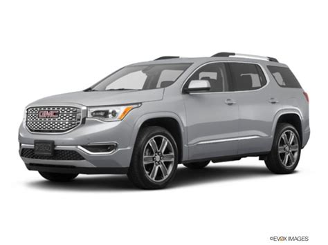 gmc acadia rebates 2018 gmc acadia prices incentives dealers truecar