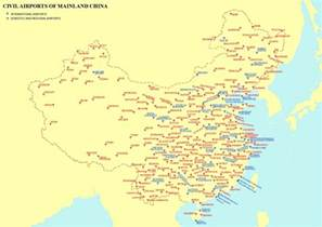 Airports In List Of Airports In China