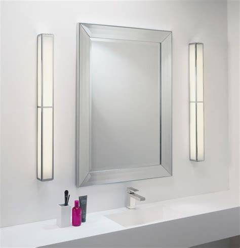 novo vertical lighted mirror miror lighting bathroom