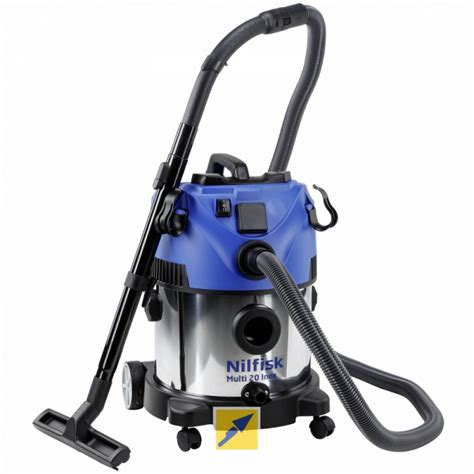 Nilfisk Vacuum Cleaner Multi 20 Inox small and vacuum cleaners up to 30 litre capacity