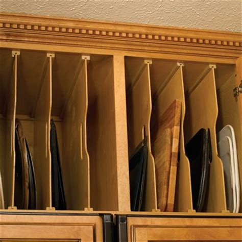 Tray Dividers For Kitchen Cabinets Omega National Maple Wood Tray Dividers Woodworker S Hardware