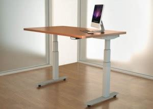 tresanti sit to stand power height adjustable tech desk standing desk comparison reviews
