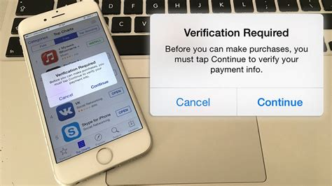 yahoo email verification required iphone fix verification required app store error on iphone ipad