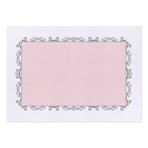 elegant wedding place card large business cards pack of