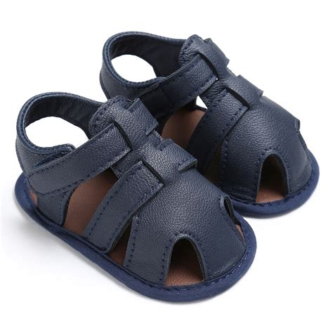 baby sandals 0 18m toddler baby boys sandals soft soled pu leather
