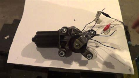 dead  vlog windshield wiper motor wiring youtube