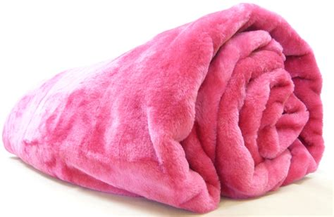 felldecke rosa large faux fur mink throw 200x240 sided bed sofa ebay