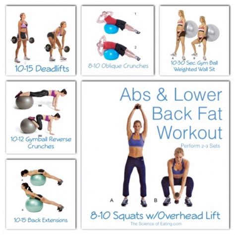 abs lower back workout