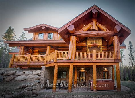 peco log homes log home pictures custom log homes picture gallery bc canada
