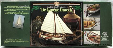 authentic models holland  royal yacht de groene draeck plank  frame hull wooden ship