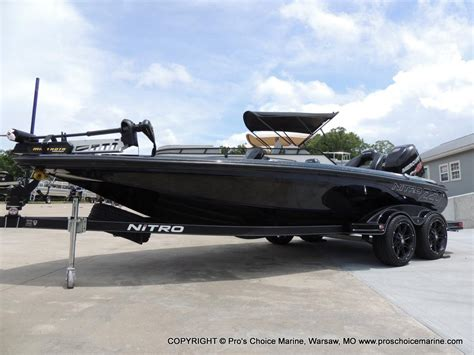 nitro boats nitro z20 bass boats new in warsaw mo us boattest
