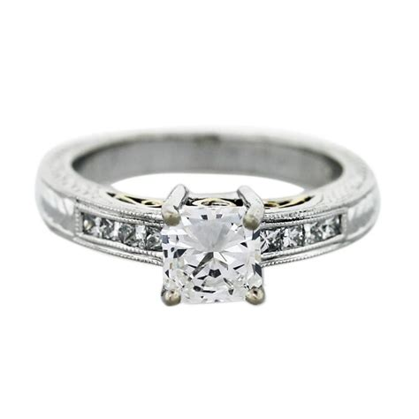 Wedding Rings Square by Engagement Rings Square Band Wedding Rings For