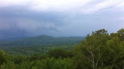 Ct Soapstone - wall cloud from top of soapstone mountain somers ct