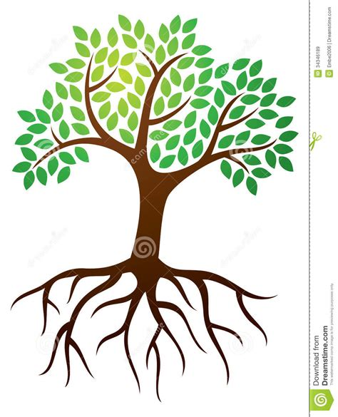 Clipart Tree With Roots trees with roots clipart